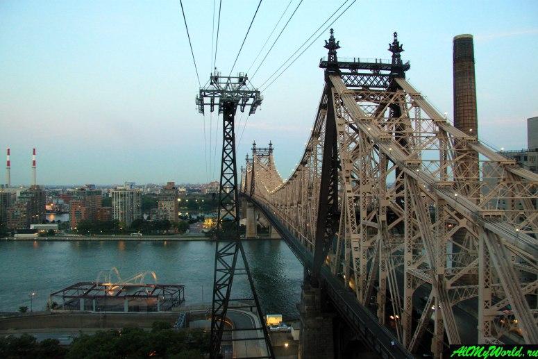 Достопримечательности Нью-Йорка - Канатка на остров Рузвельт