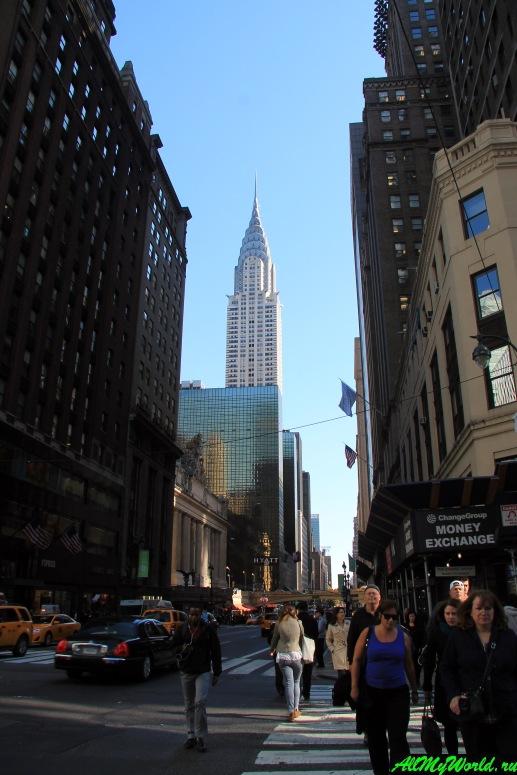 Достопримечательности Нью-Йорка - Крайслер-билдинг