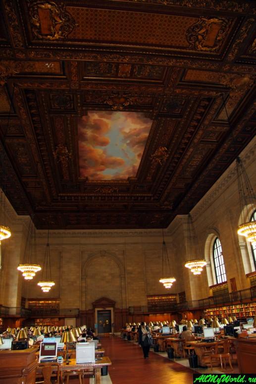 Достопримечательности Нью-Йорка - Нью-Йоркская публичная библиотека