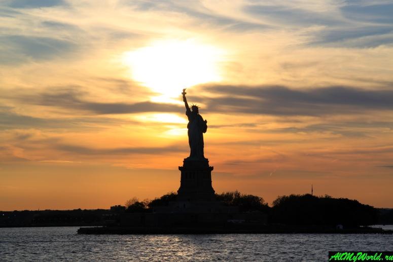Достопримечательности Нью-Йорка - Статуя Свободы