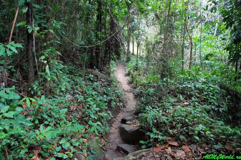 Достопримечательности острова Самуи: Водопад Хин Лад