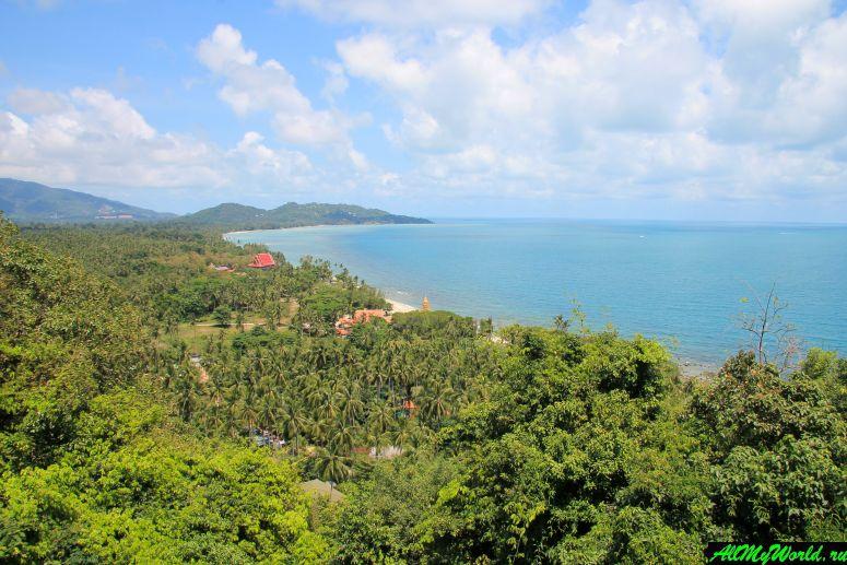 Достопримечательности острова Самуи: Храм Кхао Чеди и пагода Раттанакосин