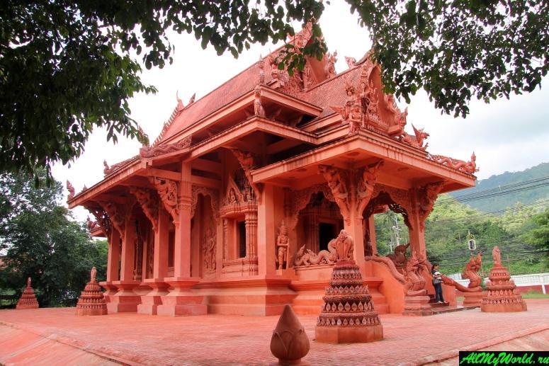 Достопримечательности острова Самуи: Красный храм и пагода Сила Нгу