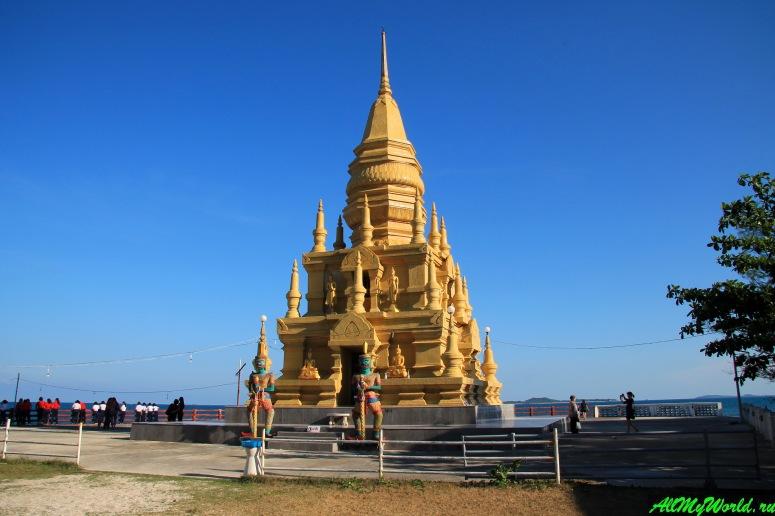 Достопримечательности острова Самуи: Пагода Лаем Сор (Laem Sor Pagoda)
