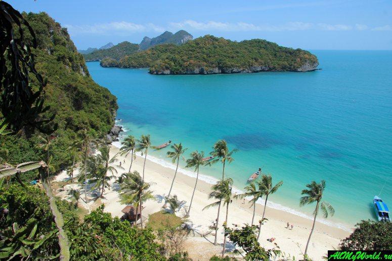 Достопримечательности острова Самуи: Морской парк Ангтонг (Angthong Marine park)