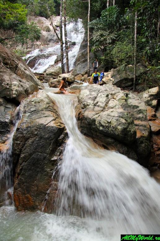 Достопримечательности острова Самуи: Водопад Tan Rua (Secret Falls)