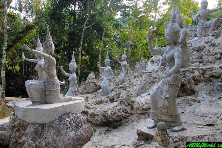 Достопримечательности острова Самуи: Магический сад Будды (Magic Buddha Garden)