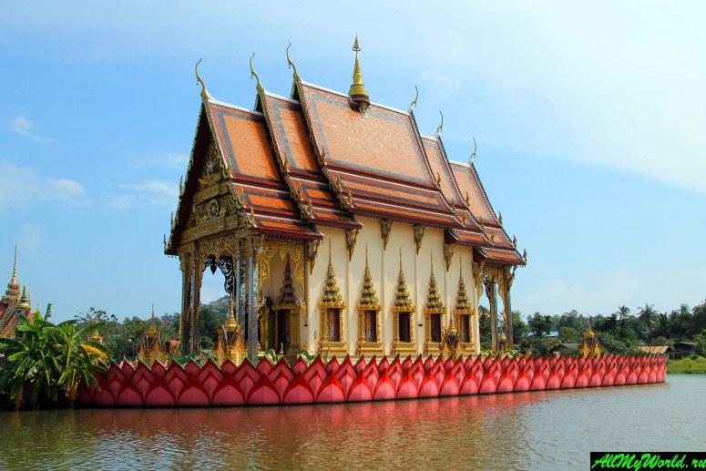 Достопримечательности острова Самуи: Ват Плай Лаем