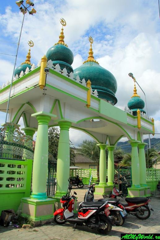Достопримечательности острова Самуи: Мусульманская деревня Хуа Танон и главная мечеть Самуи