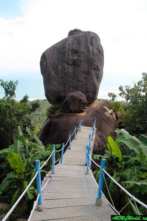 Достопримечательности острова Самуи: Перекрывающий камень (Overlap Stone)