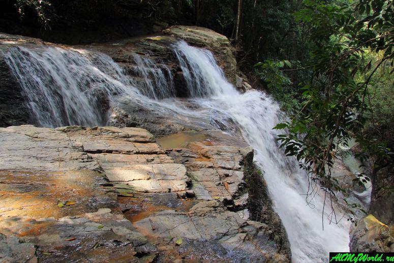 Достопримечательности острова Самуи: водопад Кхун-си