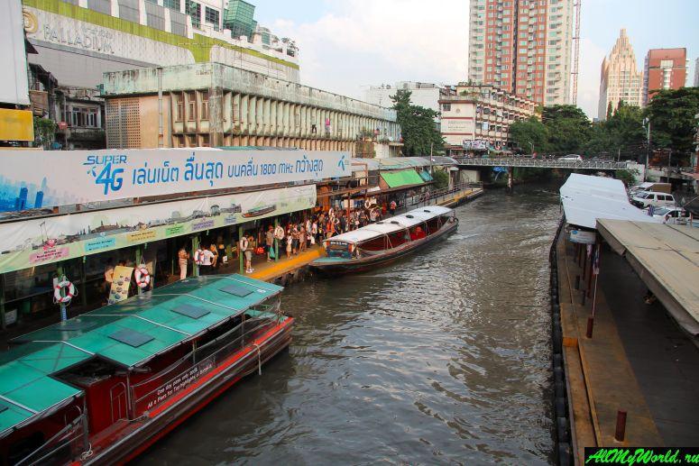 Каналы Бангкока: на лодке по клонгам