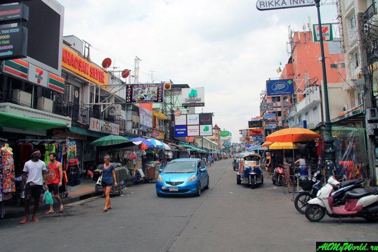 Каосан-роуд в Бангкоке