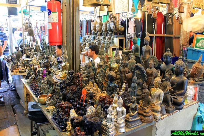 Рынок и парк Чатучак в Бангкоке