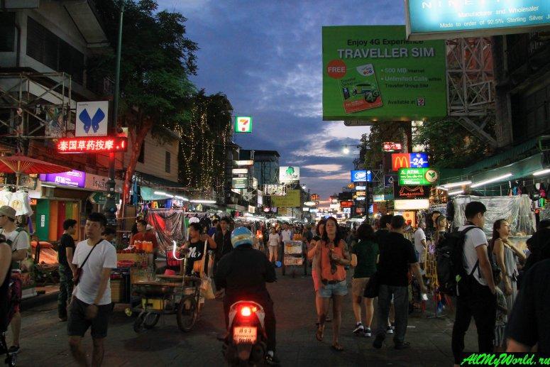 Шоппинг в Бангкоке: Ночной рынок на Каосан-роуд