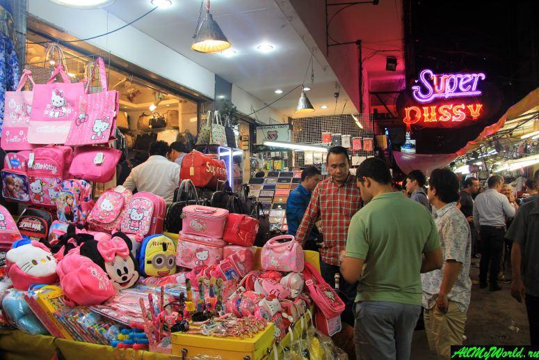 Шоппинг в Бангкоке: Ночной базар в Патпонге