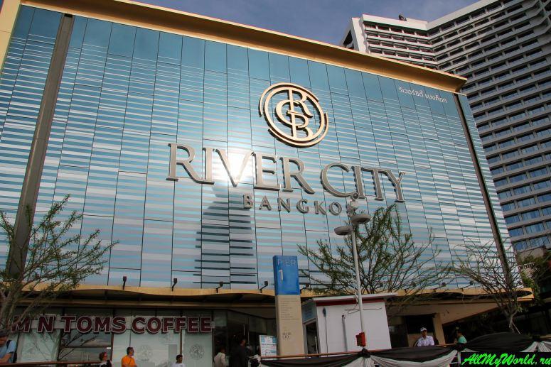 Шоппинг в Бангкоке: Торговый центр River City Bangkok