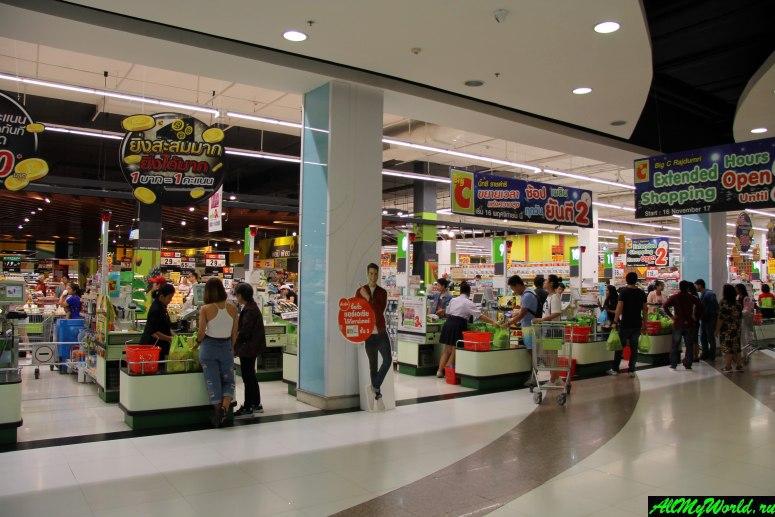 Шоппинг в Бангкоке: торговый центр Big C Supercenter (Биг Си)