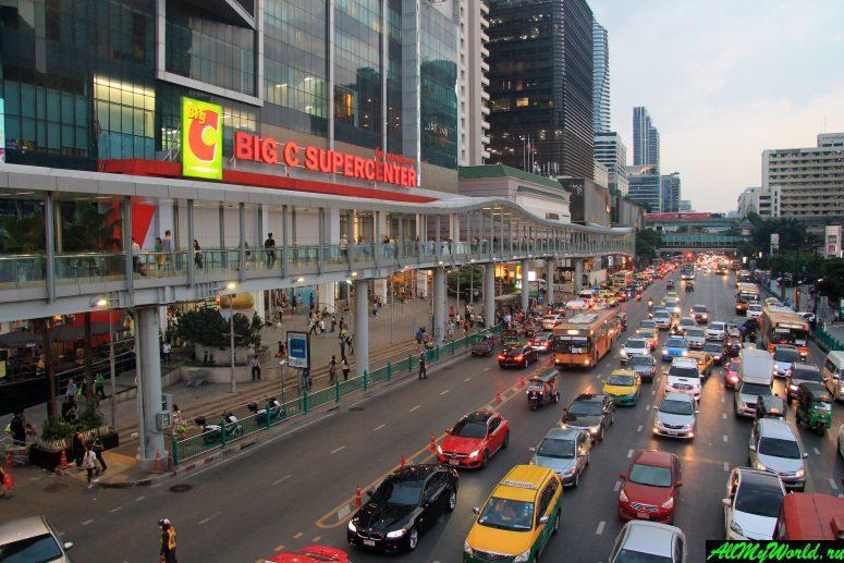 Шоппинг в Бангкоке: Торговый центр Big C Supercenter