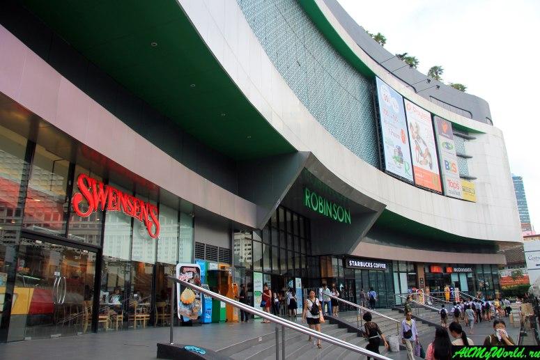 Шоппинг в Бангкоке: Торговый центр Robinson