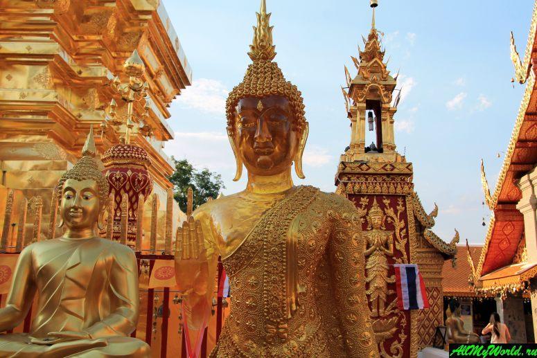 Достопримечательности Чиангмая: храм Doi Suthep (Дой Сутхеп)