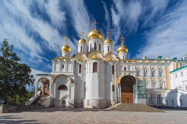 Достопримечательности Московского Кремля и Красной площади - Благовещенский собор