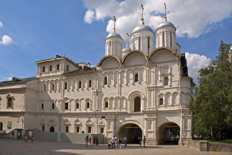 Достопримечательности Московского Кремля и Красной площади - Патриаршие палаты