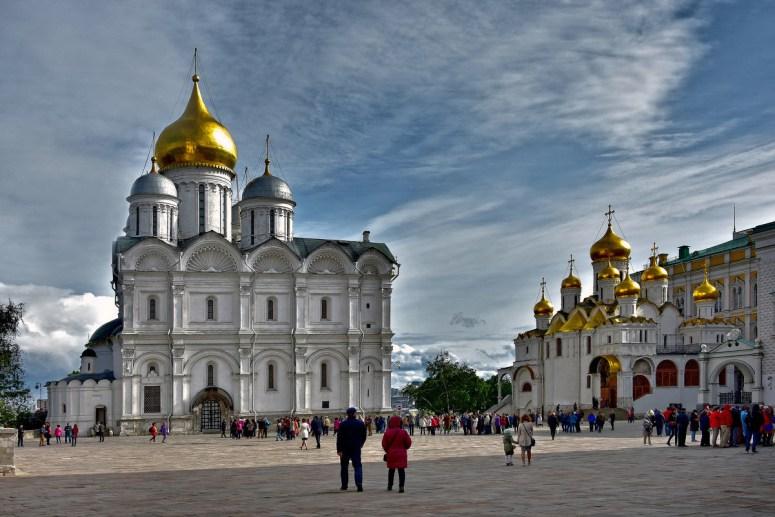 Достопримечательности Московского Кремля и Красной площади - Соборная площадь