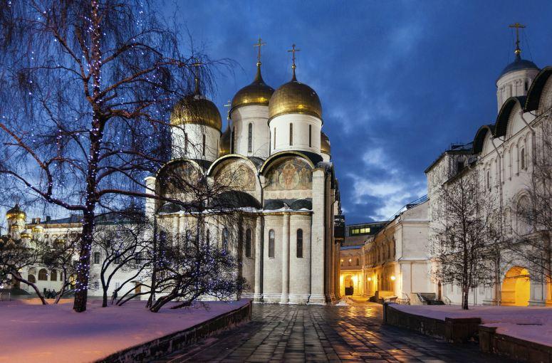 Достопримечательности Московского Кремля и Красной площади - Успенский собор