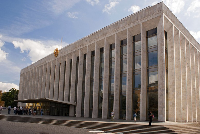 Достопримечательности Московского Кремля и Красной площади - Государственный Кремлёвский дворец