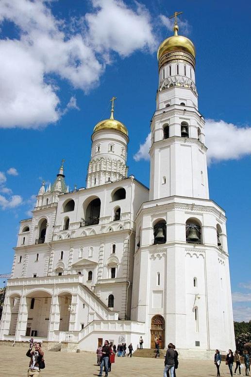 Достопримечательности Московского Кремля и Красной площади - Колокольня Ивана Великого
