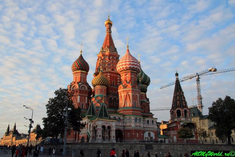 Достопримечательности Московского Кремля и Красной площади - Собор Василия Блаженного