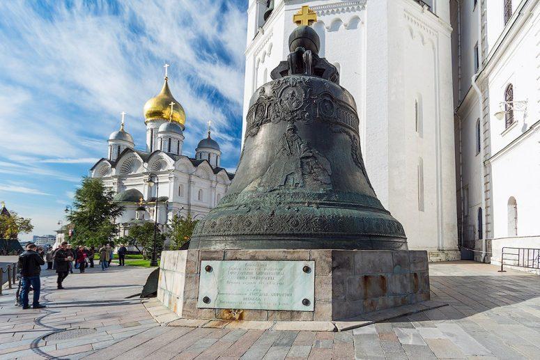 Достопримечательности Московского Кремля и Красной площади - Царь-колокол