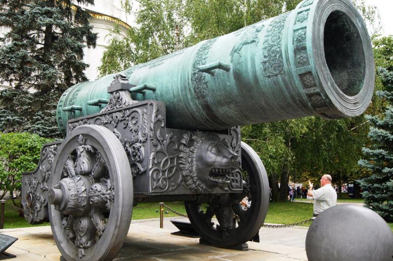 Достопримечательности Московского Кремля и Красной площади - Царь-пушка