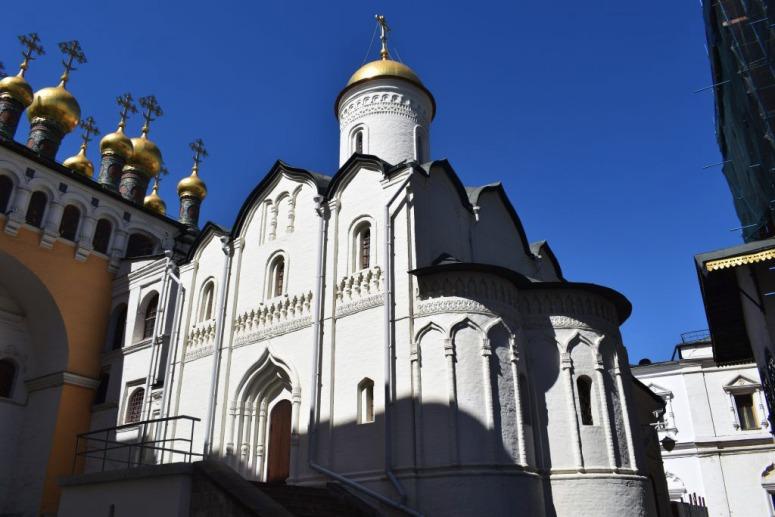 Достопримечательности Московского Кремля и Красной площади - Церковь Ризоположения