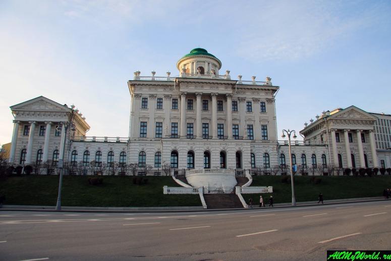 Достопримечательности Москвы: Дом Пашкова