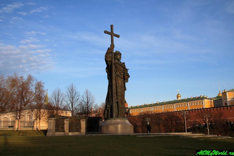 Достопримечательности Москвы: Памятник князю Владимиру