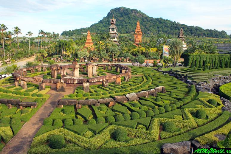 Достопримечательности Паттайи - Тропический парк Нонг Нуч (Nong Nooch Garden)