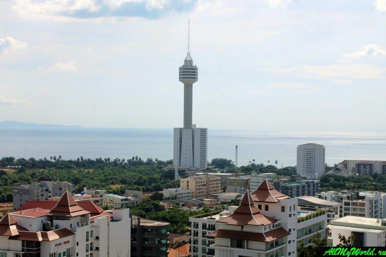 Достопримечательности Паттайи - Зип-лайн в отеле Pattaya Park Tower
