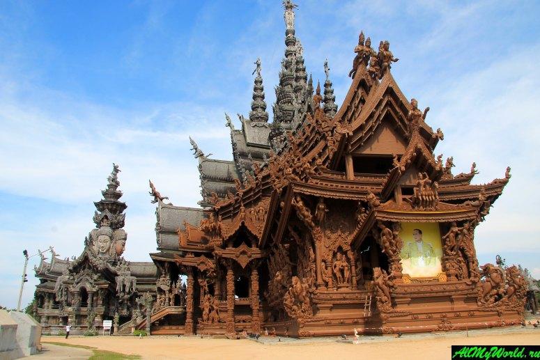Достопримечательности Паттайи - Храм Истины (Храм всех религий, Sanctuary of Truth)