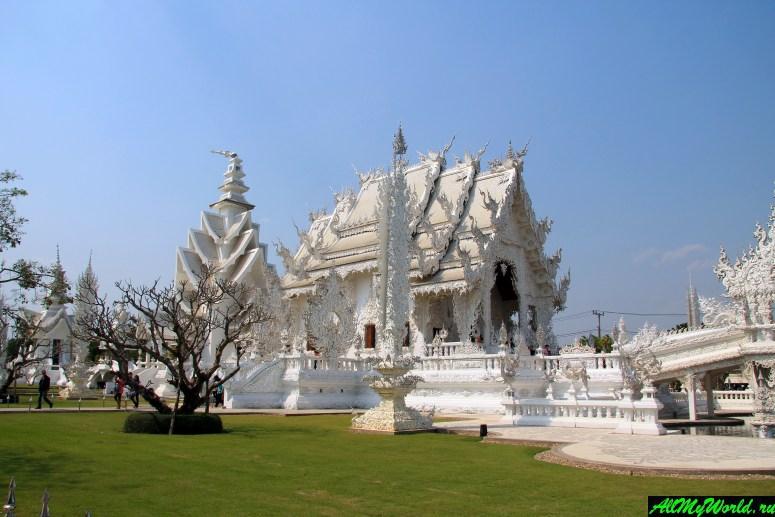 Достопримечательности в окрестностях Чианграя: Белый храм
