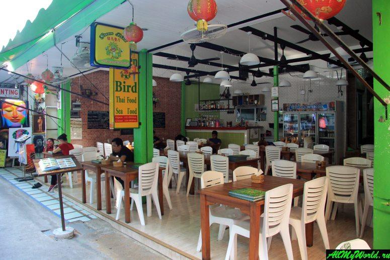 Где поесть на Самуи: Кафе Green Bird на Чавенге