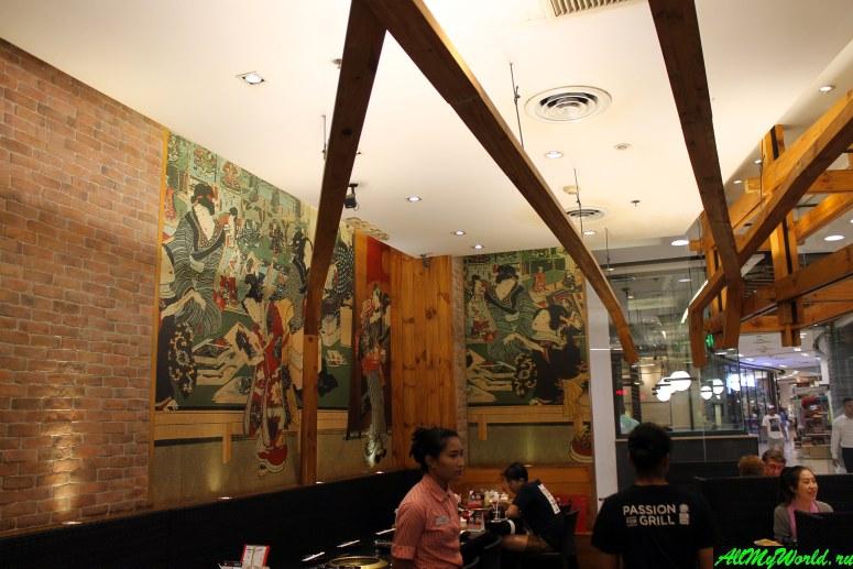"""Где поесть в Паттайе - Японский ресторан AKA - """"passion for grill"""""""
