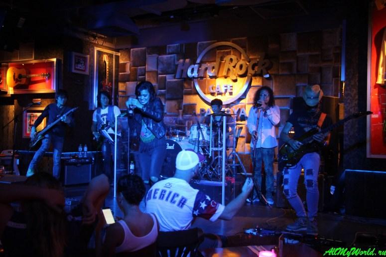 Где поесть в Паттайе - Hard RockCafé