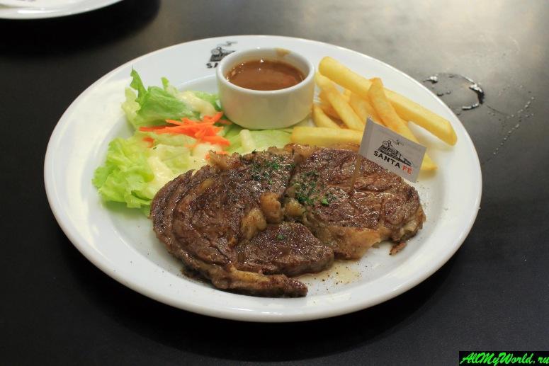 Где поесть в Паттайе - Ресторан Santa Fe Steak
