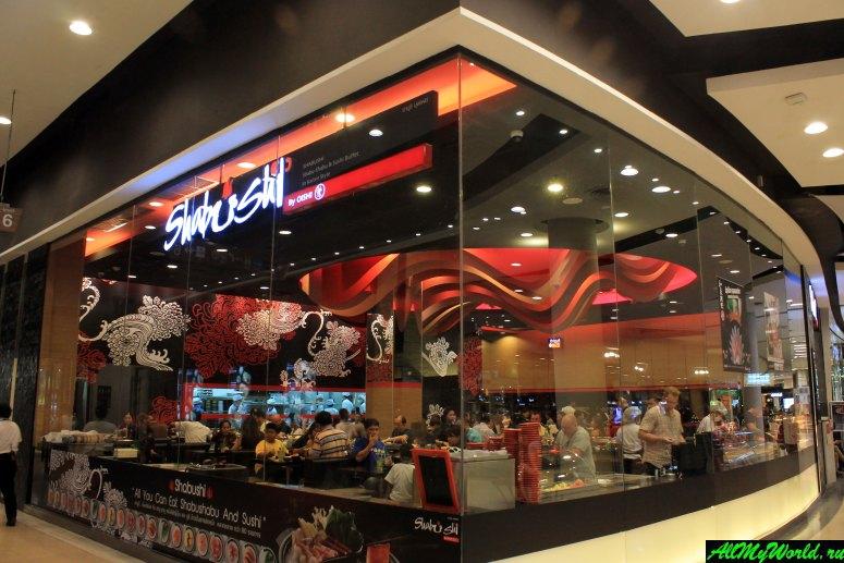 Где поесть в Паттайе - Японский ресторан-буфет Shabushi