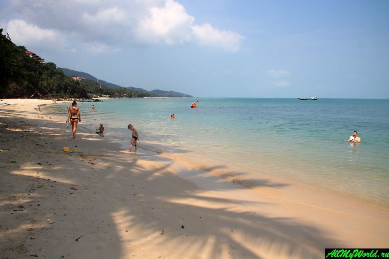 Лучшие пляжи Самуи: Пляж Бан Тай (Ban Thai Beach)