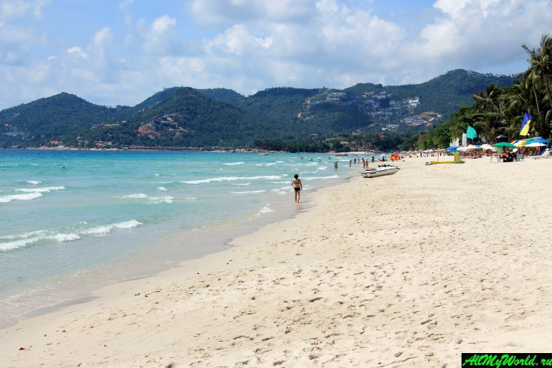 Лучшие пляжи Самуи: Пляж Чавенг (Chaweng Beach)