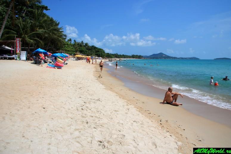Лучшие пляжи Самуи: Пляж Чавенг Ной (Chaweng Noi Beach)