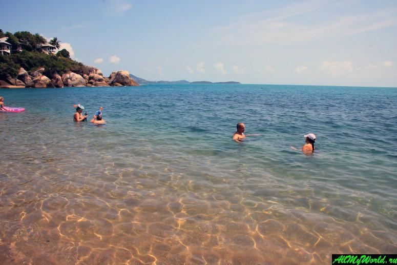 Лучшие пляжи Самуи: Пляж Корал Коув (Coral Cove Beach)